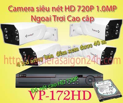 camera giám sát ngoài trời cao cấp, VP-172AHD