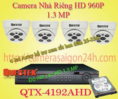 Lắp đặt camera quan sát giá rẻ camera quan sát văn phòng HD cao cấp qtx-4122ahd