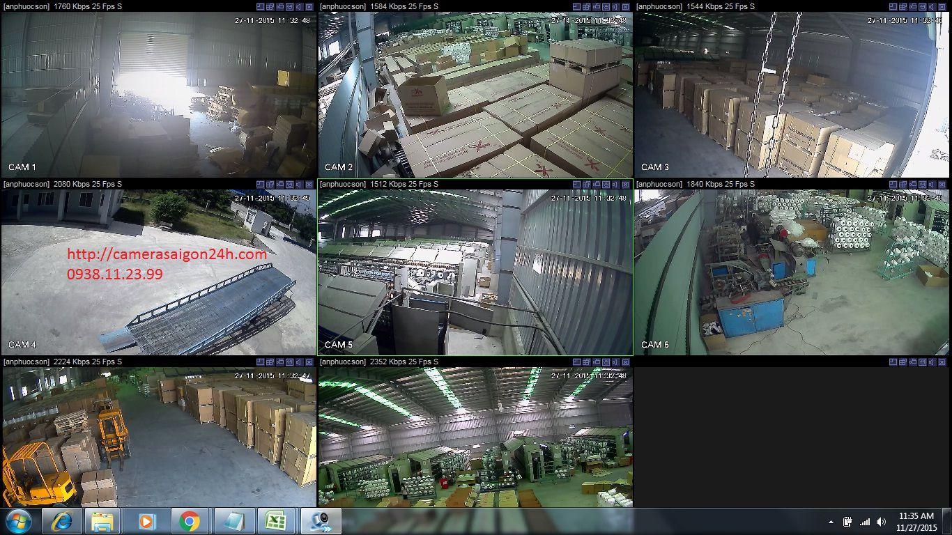 lắp đặt camera quan sát tại long thành đồng nai