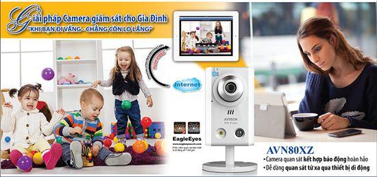 giải pháp camera quan sát cho gia đình