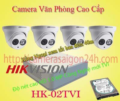 Lắp đặt camera quan sát giá rẻ Camera quan sát văn phòng cao cấp HIKVISON