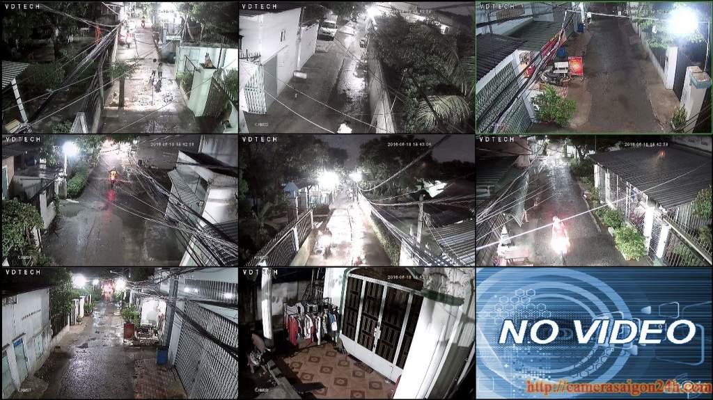 hình ảnh hệ thống camera quan sát giá rẻ