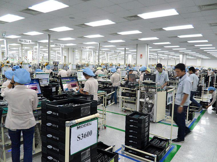 nhà máy sản xuất camera quan sát của samsung